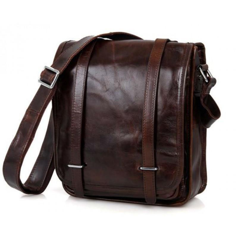 a672a39b56ed Сумка через плечо TIDING BAG 7109C коричневая купить в Киеве ...