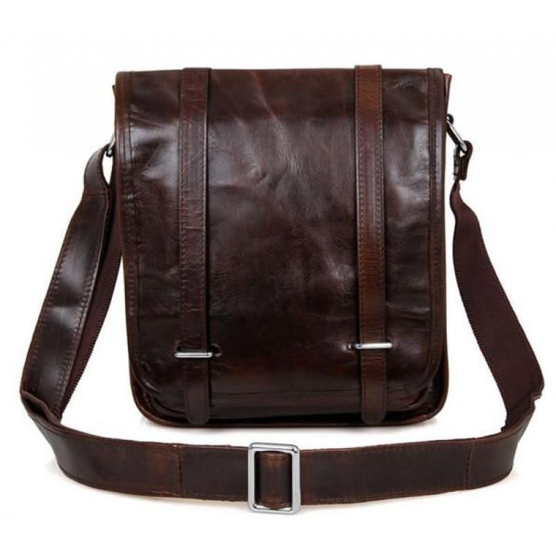 9a56f14435d6 Сумка через плечо TIDING BAG 7109C коричневая купить в Киеве ...