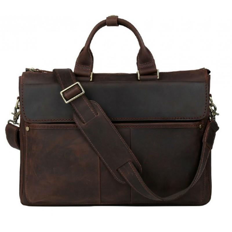 8371e76d9062 Сумка TIDING BAG T1096 коричневая купить в Киеве недорого | Интернет ...