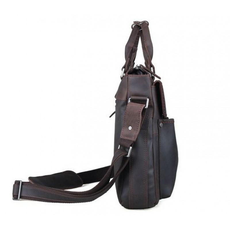 Сумка TIDING BAG T1096 коричневая купить в Киеве недорого  ecdfdf52f3704