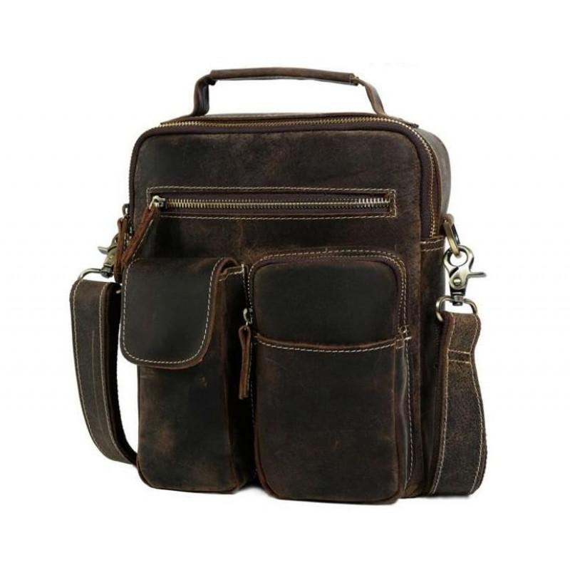 75b694ca707b Сумка TIDING BAG t1171 коричневая купить в Киеве недорого | Интернет ...