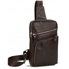 Мессенджер Tiding Bag A25-6896C коричневый