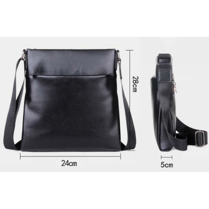 1dfa1a6c329f Мессенджер Tiding Bag A25-8850A черный купить в Киеве недорого ...