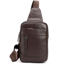 Мессенджер Tiding Bag M38-3313C коричневый
