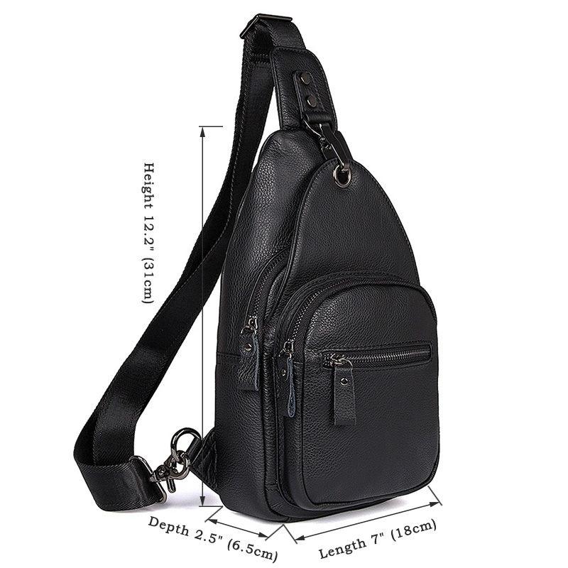 da347ec400b6 Кожаный рюкзак Tiding Bag 8509A черный купить в Киеве недорого ...