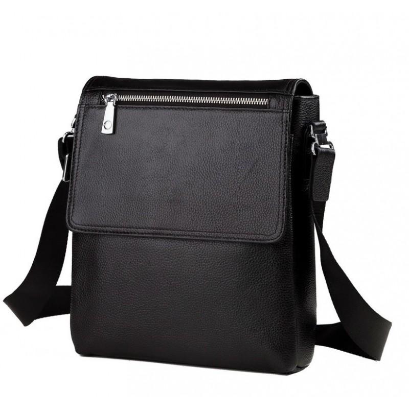 c2bfc7392a6b Мужская сумка через плечо TIDING BAG M2994A черная купить в Киеве ...