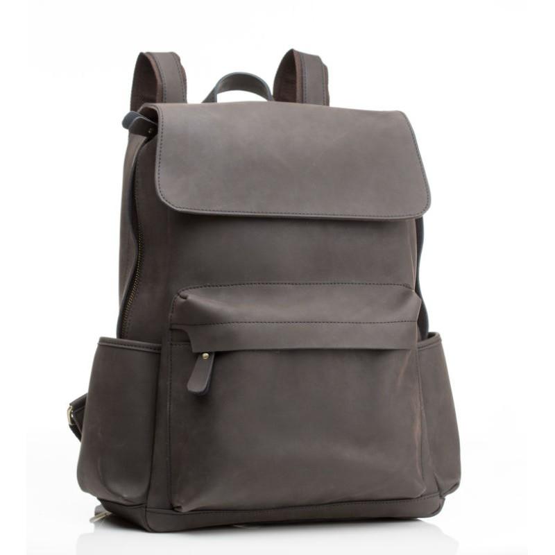 3f583bce3c07 Рюкзак кожаный Tiding Bag Bp5-2805J коричневый купить в Киеве ...