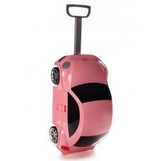 Детская сумка-чемодан на колесах RIDAZ VOLKSWAGEN BEETLE розовая