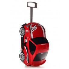 Детская сумка-чемодан на колесах RIDAZ TOYOTA 86 RACING (гонка) красная