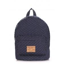 Рюкзак молодежный POOLPARTY backpack-anchor-darkblue тёмно-синий
