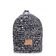 Рюкзак молодежный POOLPARTY backpack-signature-darkblue тёмно-синий