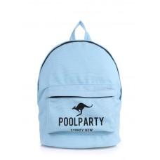 Рюкзак POOLPARTY kangaroo голубой