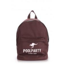 Рюкзак POOLPARTY kangaroo коричневый