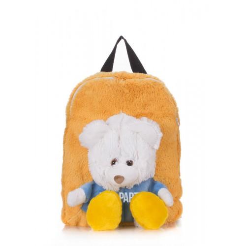 Детский рюкзак POOLPARTY kiddy-backpack оранжевый