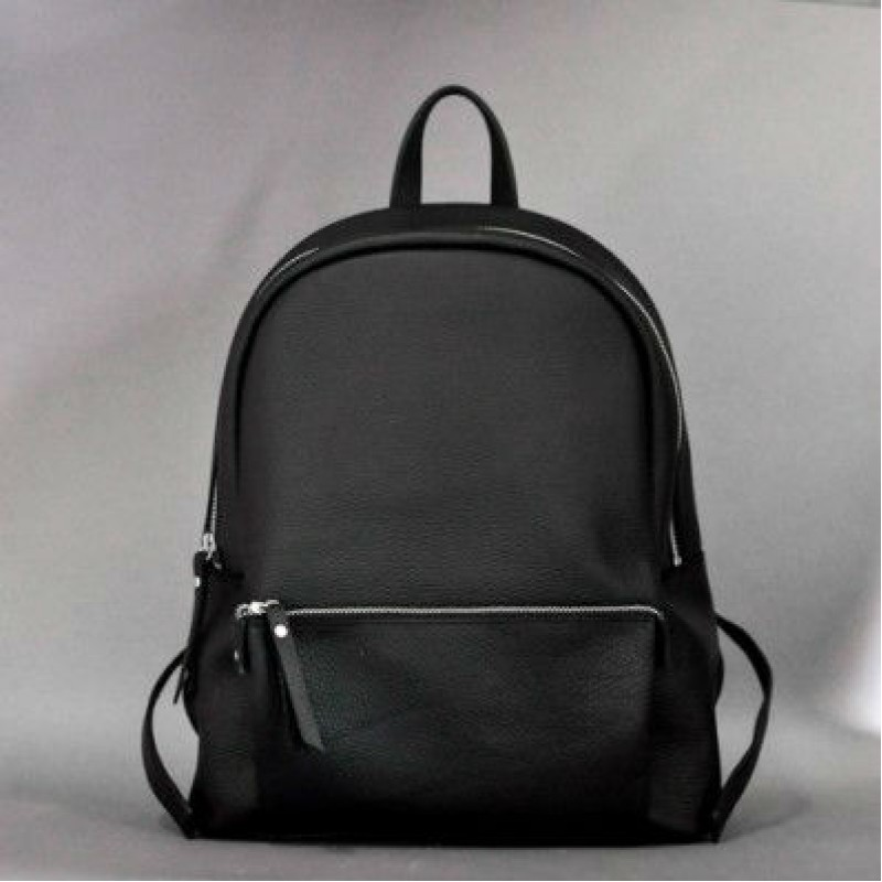 485a8c34352e Женский кожаный рюкзак Pilot New чёрный — купить в интернет-магазине ...