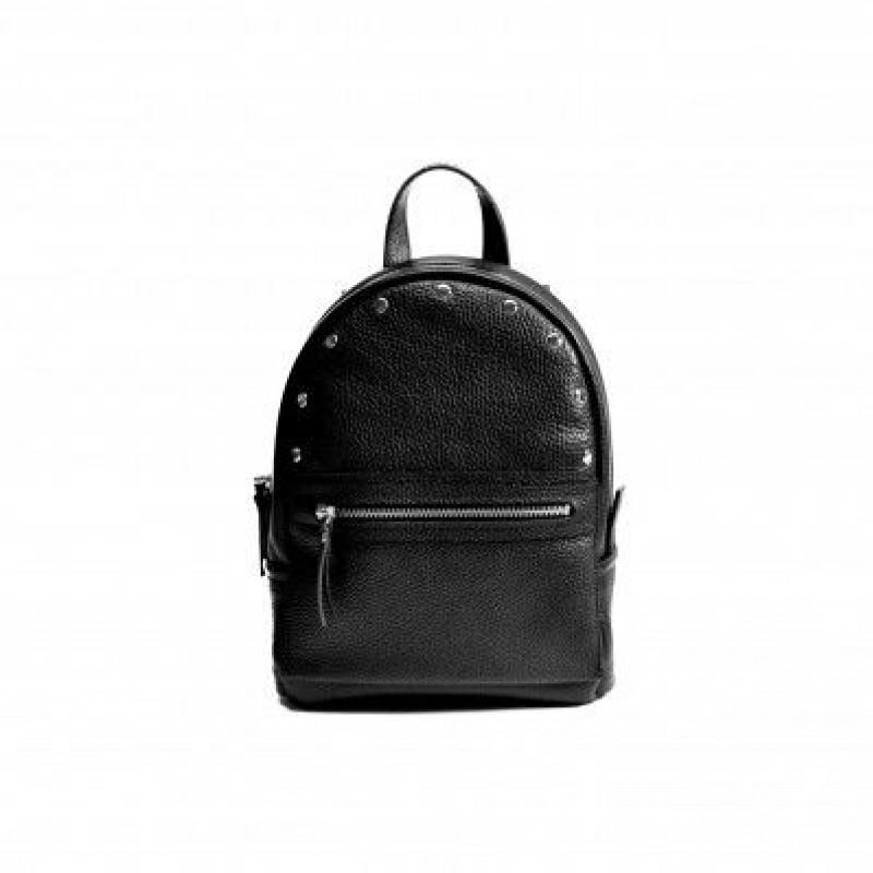 d54c559ea617 Жіночий шкіряний рюкзак Sport Black-R чорний — купити в інтернет ...