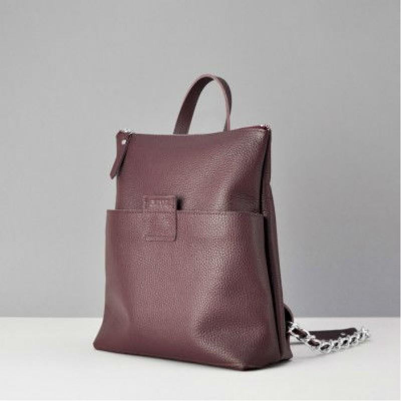 Сумки-рюкзаки кожаные женские alpine походный рюкзак