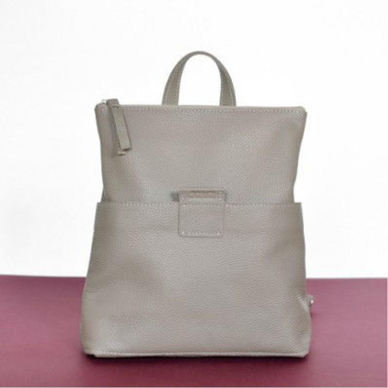07f826ace8e8 Женская кожаная сумка-рюкзак K-2 Biege бежевая — купить в интернет ...