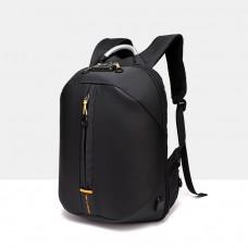 Городской рюкзак Black Owl с отделом для ноутбука 15,6 дюймов черный
