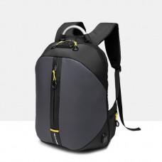 Городской рюкзак Black Owl с отделом для ноутбука 15,6 дюймов серый