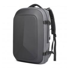 Городской рюкзак OZUKO 9082 с отделением для ноутбука 15,6 дюймов серый
