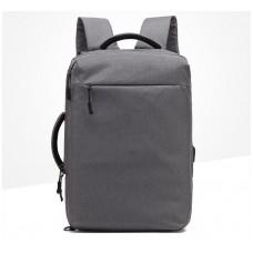 Городской рюкзак-сумка OZUKO 8904 с отделением для ноутбука 15,6 дюймов серый