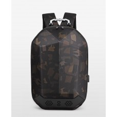 Городской рюкзак OZUKO 9205 с отделением для ноутбука 15,6 дюймов и колонкой Камуфляжный