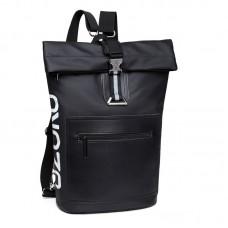 Городской рюкзак Ozuko RollTop 8982 черный