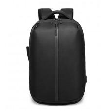 Рюкзак антизлодій з кодовим замком OZUKO 9080 з відділом для ноутбука 15,6 дюймів і відділом для взуття чорний