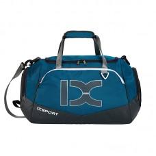 Сумка IX 17106 с карманом для мокрых вещей и обуви синяя