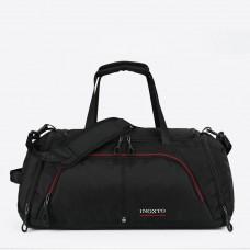 Сумка IX 171107 черная с отделом для обуви