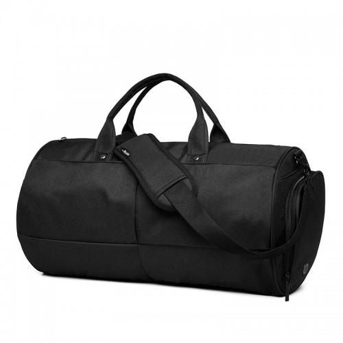 Спортивная сумка TuGuan 1698 с отделом для обуви черная