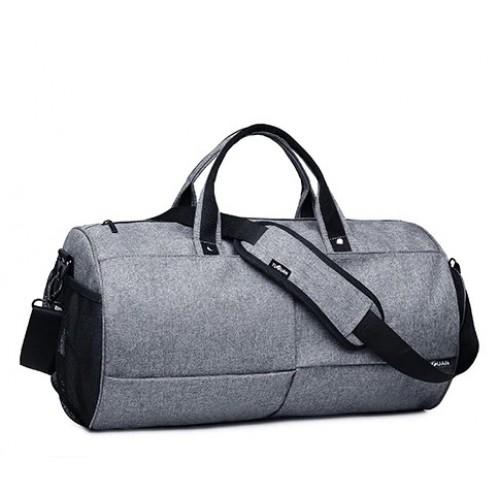 Спортивна сумка TuGuan 1 698 з відділом для взуття сіра