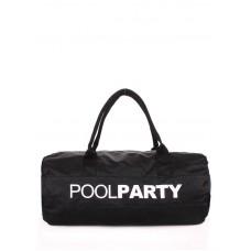 Спортивна сумка POOLPARTY Gymbag чорна