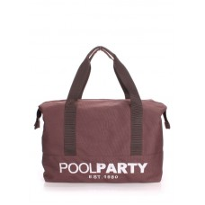 Спортивна сумка POOLPARTY 12 коричнева