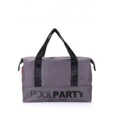 Спортивна сумка POOLPARTY 12 сіра