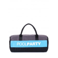 Спортивна сумка POOLPARTY Gymbag блакитна