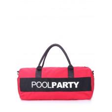 Спортивна сумка POOLPARTY Gymbag червона