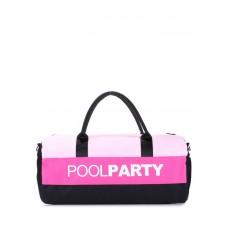 Спортивна сумка POOLPARTY Gymbag рожева