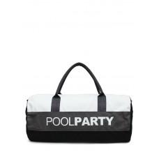 Спортивна сумка POOLPARTY Gymbag біла