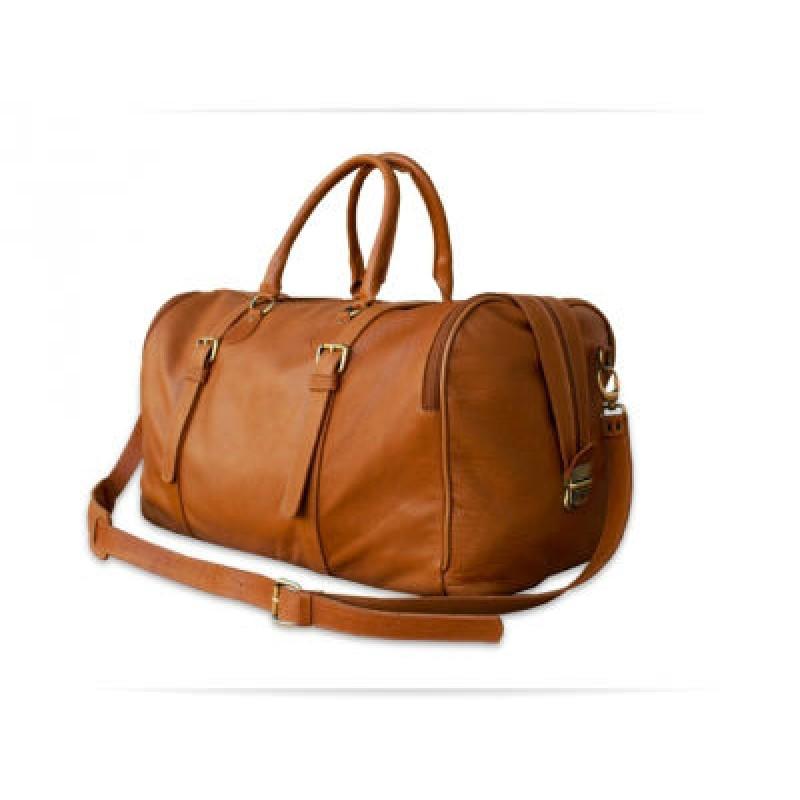 Дорожня шкіряна сумка Travel Bag Unicorn W042 руда — купити в ... 25c2cc3984208