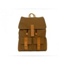 Рюкзак Wellbags Backpack ocher textile WR002.1 рыжий
