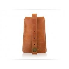 """Ключница Wellbags """"Key case ocher"""" (K026) рыжая"""