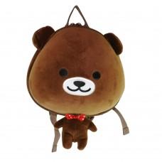 Детский рюкзак SUPERCUTE в виде мишки коричневый