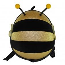 Детский рюкзак SUPERCUTE в виде пчелы черный с золотым