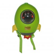 Детский рюкзак SUPERCUTE в виде ракеты салатовый
