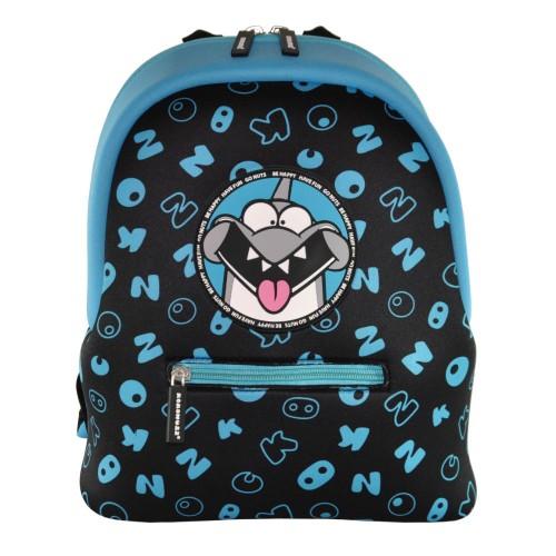 Дошкольный рюкзак KOKONUZZ-BE HAPPY с акулой черно синий