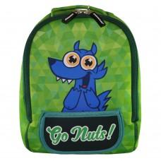 Дошкольный рюкзак KOKONUZZ-GO NUTS с собакой салатовый