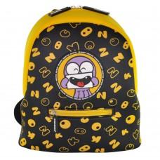 Дошкольный рюкзак KOKONUZZ-BE HAPPY с осьминогом черно желтый