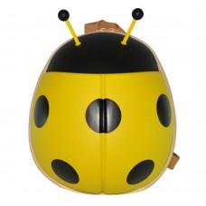 Детский рюкзак SUPERCUTE в виде божьей коровки желтый